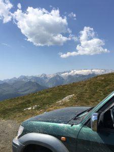 Roadbook Pyrenäen